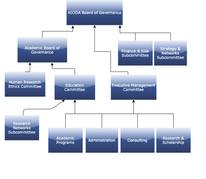 NIODA Leadership Management Organisation Dynamics - Organisation Chart