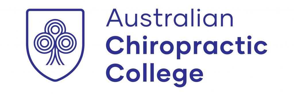 Australian Chiropractic College logo